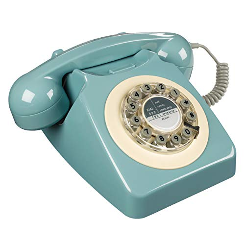 Wild and Wolf Retro 746 Telephone | French Blue