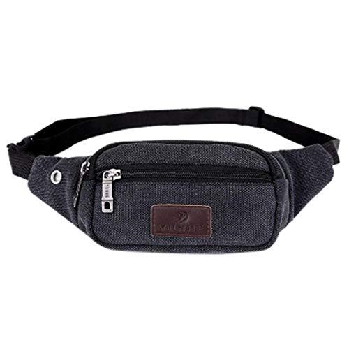 Bauchtasche Waist Bag Herren Und Damen Taillentasche Gürteltasche Unisex Casual Pocket Outdoor Sport Taillentaschen Kleine Reißverschluss Brusttasche Gürtel Gel