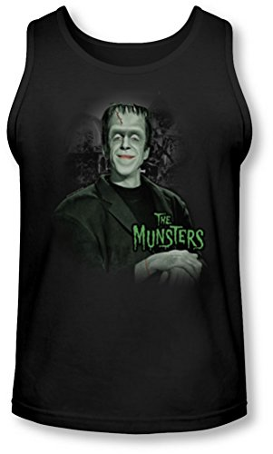 The Munsters - - L'homme de hommes de la maison Tank-Top, Large, Black