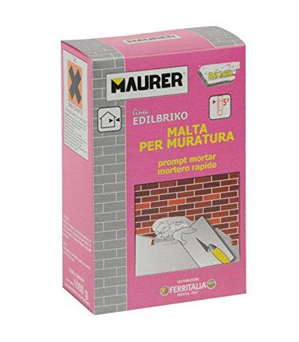 Maurer 14010322 Edil Mortero Rápido Maurer (Caja 5 kg.)