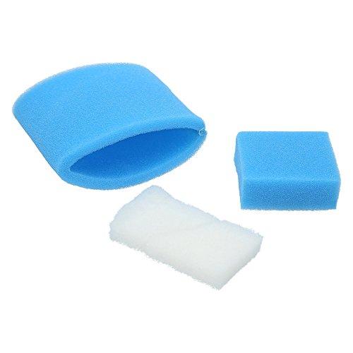 ✧WESSPER® Luftfilter geeignet Für Zelmer AQUAWELT PLUS ZVC762ZK (EPA, Waschbar)