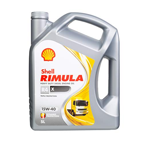 Shell 550044852 Rimula R4 X 15W-40 - Aceite para motor diésel (5...