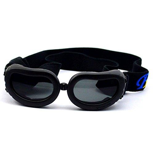WESTLINK Dog Sunglasses Eye Wear UV Protection Goggles Pet Fashion Extra Small Black