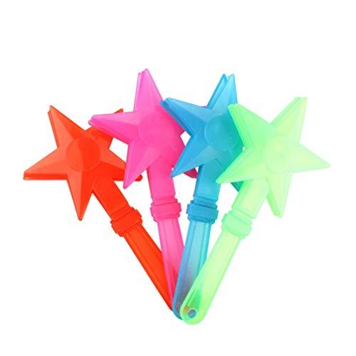Best Deals! Tomaibaby 10pcs LED Hand Clapper Noise Makers Party Favors Luminous Light Up Toys Applau...
