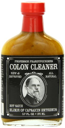 Professor Phardtpounders Colon Cleaner Hot Sauce, 5.7 Ounce