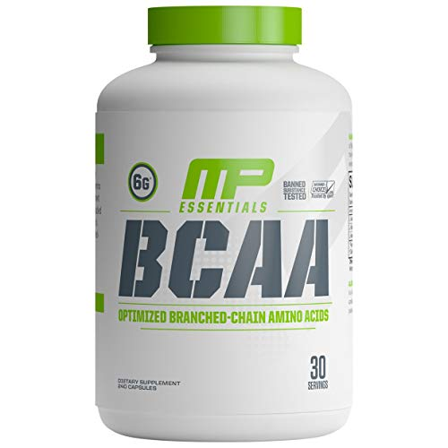 MusclePharm Essentials, BCAA, 240 Capsules
