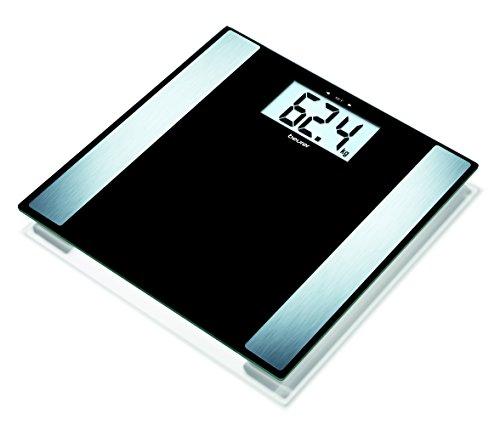 Beurer BF 480Diagnosewaage in Glas USB, schwarz
