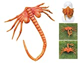 Kuberas Alien Facehugger Mask Creepy Face Hugger Halloween Costume Prop Scary Claws Insect Gold