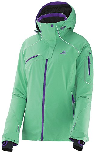 SALOMON Damen Speed Jacket XL Cascade Green