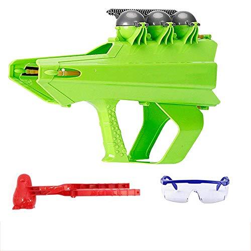 MIMORE Lanzador y fabricante de bolas de nieve, pistola de bola de nieve, pistola de nieve, juego de nieve para invierno, juegos de pelea de nieve, gafas de bola de nieve, clip de bola de nieve