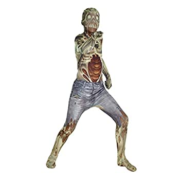 Morphsuits Kids Zombie Monster Costume - Medium 3 6-3 11 / 8-10 Years
