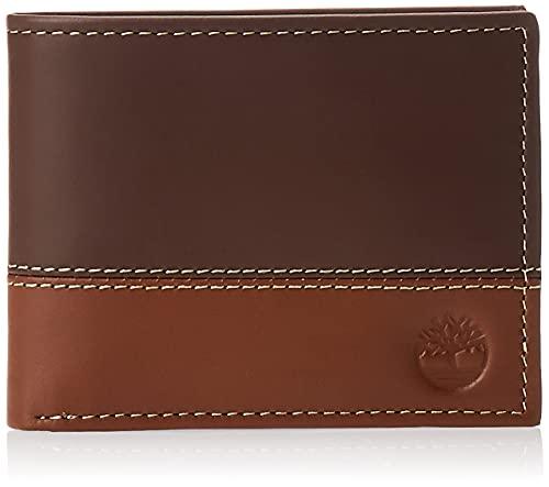 Timberland Hunter Portefeuille pour Homme avec Porte-Documents Brown/Tan Taille Unique