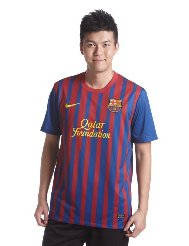NIKE Barcelona F.C. - Camiseta de fútbol (Réplica), 2011-12, M