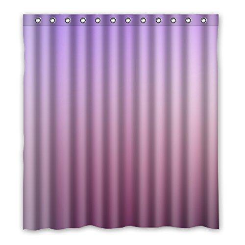 Einmal Young Farbverlauf blau-violett Polyester Wasserdicht Mehltau Duschvorhang Badezimmer Stoff Vorhang 167,6x 182,9cm (167cm x 183cm), Polyester, J, 168 x 183 cm