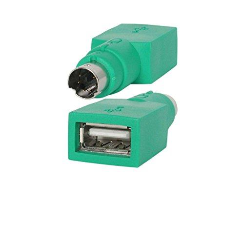 StarTech.com Ersatz-USB-Adapter für Maus zu PS/2, Stecker/Buchse