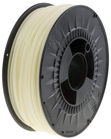 RS PRO 2.85mm Glow-in-Dark Green PLA 3D Printer Filament, 1kg