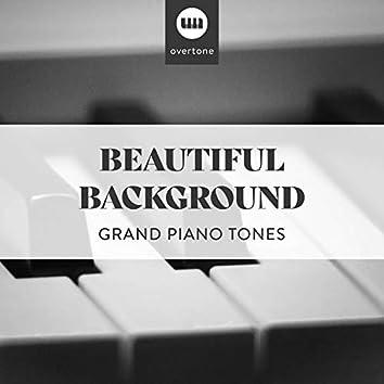 Beautiful Background Grand Piano Tones