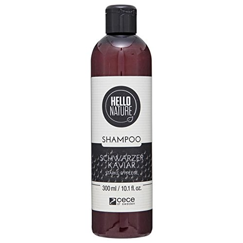 Hello Nature Shampoo zwarte kaviaar 300 ml