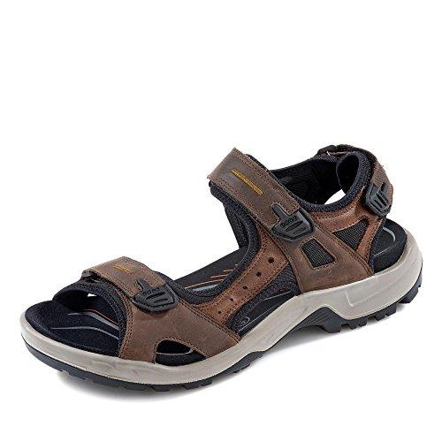 Ecco ECCO OFFROAD, Herren Outdoor Sandale, Braun (ESPRESSO/COCOA BROWN/BLACK56401), 47 EU