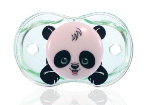 RaZbaby Keep-It-Kleen Pacifier, Panky Panda by RaZbaby