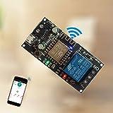 Módulo de relé inalámbrico Smart Home DC6 V ~ 36 V para Sinilink APP WIFI teléfono móvil ESP-12F XY-WF36V mando a distancia Smart Home