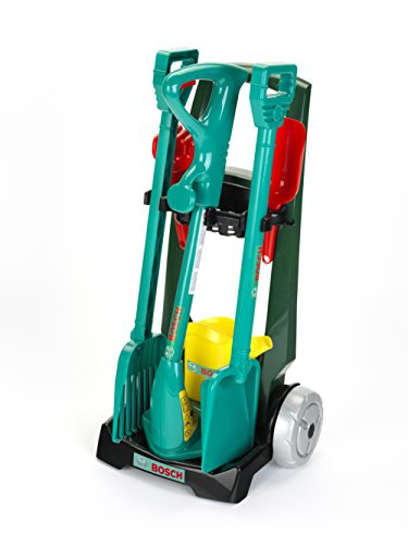 Klein Toys GmbH 2751 Chariot De Jardinage Bosch Avec Accessoires Klein Chario - Gartenhandschuhe