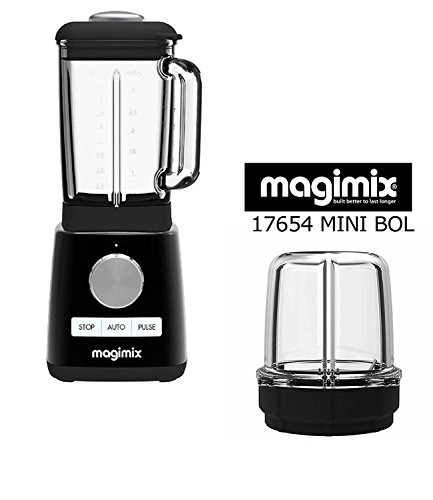 MAGIMIX POWER Mixer Blender Neu schwarz 1300W 22000 g (Mit optionalem Grinder