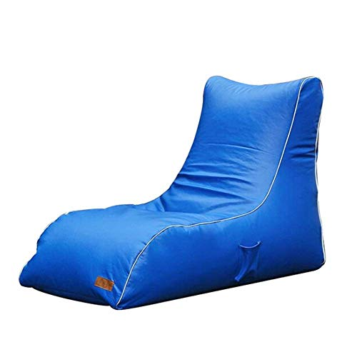 NBVCX Furniture Decoration Chair for Kids and Adults Storage Bean Bag Large Beanbag Chairs for Kids Toys Holder and Organizer for Boys and Girls (Color : Blue Size : 135 * 65 * 90cm)