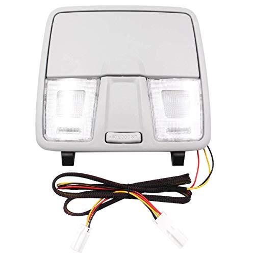 Kuinayouyi Caja de Gafas de Luz de Lectura de Consola de Techo de Coche para Elantra GT I30 IX25 2012-2016