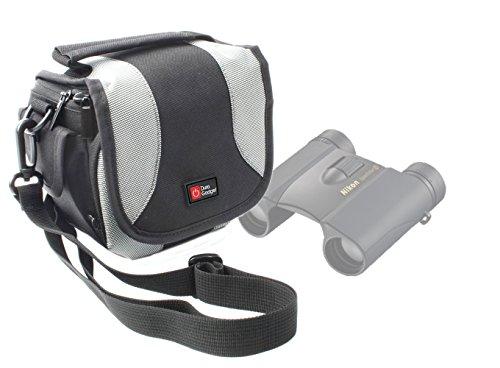 Etui de rangement para Nikon Sportstar EX 10x 25dcf, Aculon A3010x 25y Monarch 5–Prismáticos (10x 42, 12x 42y 8x 42