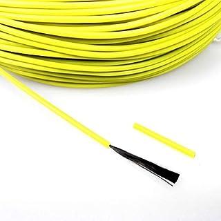 DZF697 1pc 50 mètres 12K 33 ohm/m câble Chauffant en Fibre de Carbone/m câble de Chauffage Infrarouge (Couleur : Rouge)