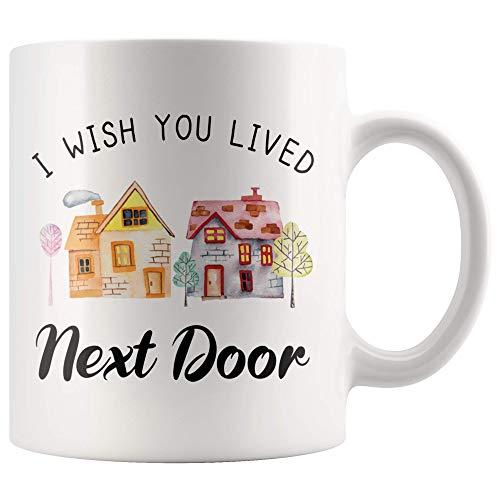 TI DESIDERO ABITARE NEXT DOOR Tazza da caffè Tazza da caffè da 11 once