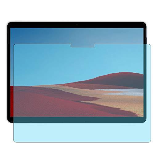 Vaxson 2 Stück Anti Blaulicht Schutzfolie, kompatibel mit Microsoft Surface Pro X 13