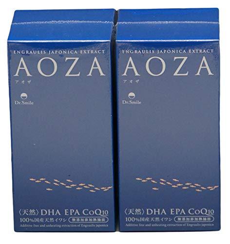 『AOZA - アオザ300粒 2個セット ドクタースマイル オメガ3(DHA・EPA・コエンザイムQ10)含有サプリメント』の1枚目の画像