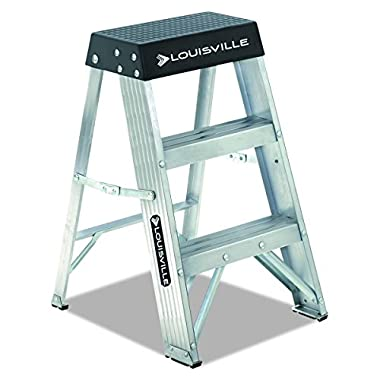 Louisville Ladder AS3002 300-Pound Duty Rating Aluminum Stepladder, 2-Foot