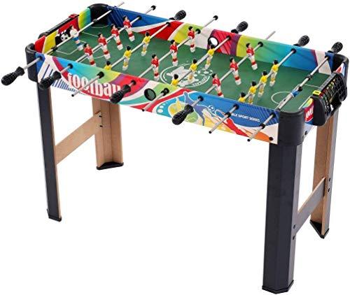 ZY Futbolín, Mesa de fútbol, futbolín de Mesa Juegos de Diversión Familiar Barra de Actividad del fútbol del fútbol Fusball Juego de Mesa LOLDF1