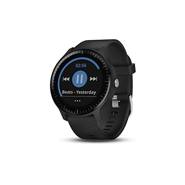 Garmin vívoactive 3 Music, GPS Smartwatch with Music Storage, Supports Spotify - Black (Renewed) 4