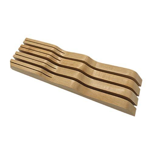 Tancyechy Knivlåda kök bestickhållare trä slaktare knivhållare ställ förvaring förvaring hylla