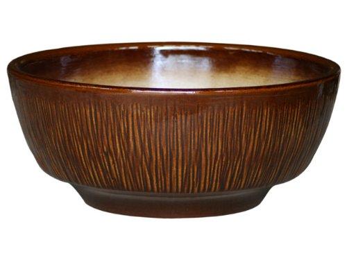 Roma plantes 46 x 20 cm-couleur : marron brillant frostbeständiger grès, en céramique