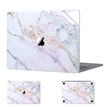 Digi-Tatoo MacBook Skin Decal Sticker Compatible with MacBook Air 13 inch 2020/2018 Release  Model A2337/A2179/A1932  Easy Apply Full Body Protective Vinyl Skin [Cracked Marble]