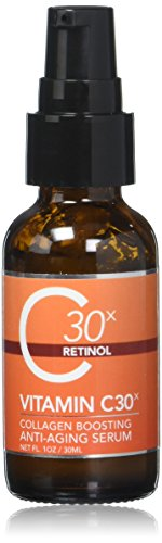 Medpeel Vitamin C30x Retinol Collagen-Boosting Antiaging Serum, 1 Fluid Ounce