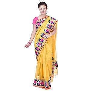 ee01614a0e Rajasthani Look Women's Aari Work Pure Kota Supernet Cotton Saree With  Blouse (Yellow)Rajasthani Look Women's Aari Work… 5 out of 5 stars2