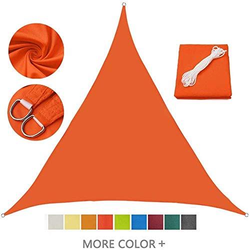 FGA Toldo Impermeable Shade Cloth Sun Shade Sail para Patio, jardín, terraza y Camping al Aire Libre, toldo de Bloque UV 95% (3X3x3M)