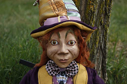 Marioneta Enano#1 títere marionette puppet ooak artdoll
