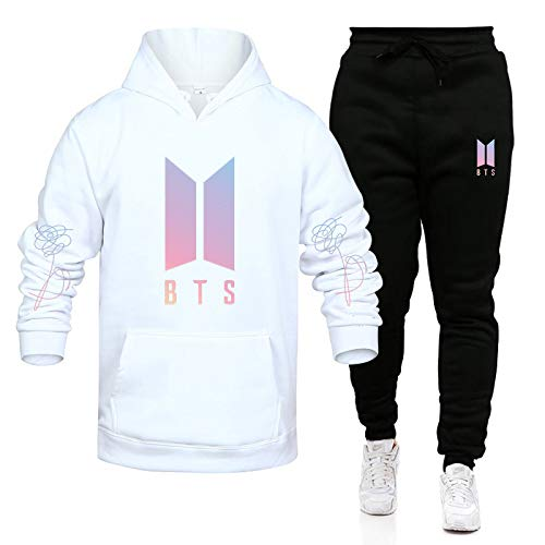 EMPERSTAR Couple Hoodie Set BTS BTS Sweater Couple Set Two Hoodie,...