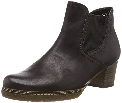 Gabor Damen Comfort Basic Kurzschaft Stiefel, Rot (Chianti.N/Micro) 18, 44 EU