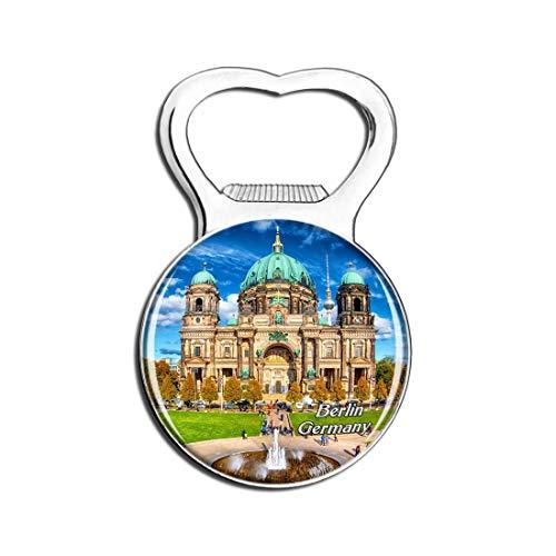 Weekino Catedral de Berlín Alemania Imán para Nevera, abridor de Botellas de Cerveza, Recuerdo de Viaje, Regalo para Nevera