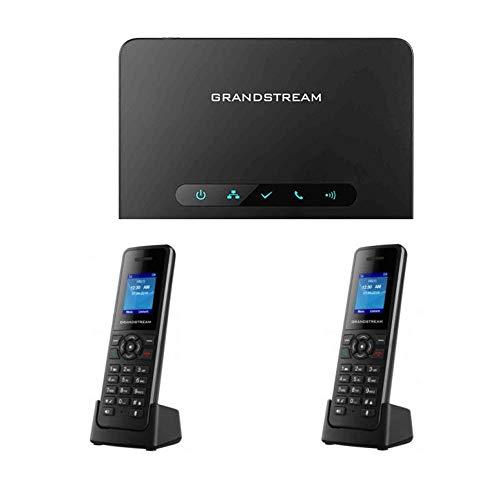 Grandstream DP750 Long-range DECT Base Station + DP720 2-UNITS DECT HD Handset