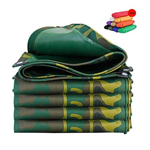 Voile d'ombrage HUAHUA PVC Imperméable Camouflage Bâche, Épaissie Doux Crème Solaire, Coupe-Vent, Anti-poussière Et De l'ombre en Tissu, 100% Anti-UV Et Anti-âge, 19 Tailles (Size : 6x10m)