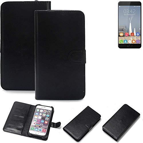 K-S-Trade® Handy Schutz Hülle Für Oukitel K6000 Plus Schutzhülle Bumper Schwarz 1x